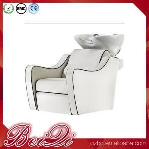 Quality Cheap backwash salon equipment shampoo washing chair hair salon wash basins for sale