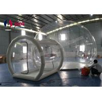 Tunnel Movement Hotel House Clear Bubble Tent / Inflatable Lawn Tent Manufactures