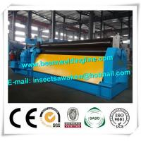 Quality CNC Hydraulic bending machine steel plate shearing machine , Steel rolling for sale