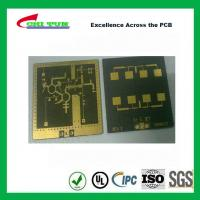 3 Layer TLY-9+HT1.5 SOFT GOLD Smt PCB Assembly Service with Black Solder Manufactures