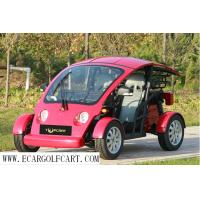 Mini Small Two Seater Golf Cart , Safty 4 Wheel Golf Cart With Vacuum Tire Manufactures