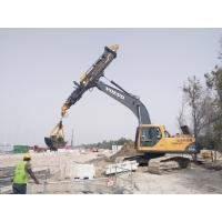 Underground Foundation Drilling Tools , KM Series Excavator Telescopic Boom Clamshell Manufactures