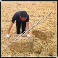 Large square hay baler for lucerne from China plant Manufactures