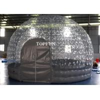 1.0 Mm PVC Transparent Inflatable Air Tent  5m Diameter CE Approval Manufactures