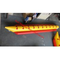 10 sits person inflatable banana boat for sale Manufactures