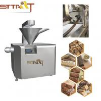 Peanut Candy / Protein Bar Making Machine Multi Controller Languages Optional Manufactures