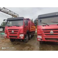 2015 made in china tractor head 8*4 12 Tires Sinotruck Howo tipper  dump truck Manufactures