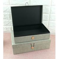 Luxury Rigid Cardboard Custom Printed Jewelry Boxes , Jewelry Gift Boxes With Closure Manufactures