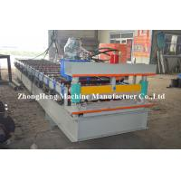 Customized Corrugated Roll Forming Roofing Machine For Wall Panel Maker 50Hz Manufactures