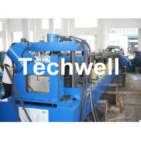 Single Side Auto Adjustable C Purlin Cold Roll Forming Machine TW-C300 Manufactures