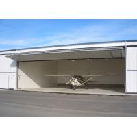 Quality Large Pre Manufactured Steel Structure Hangar Aircraft Hangar Buildings for sale