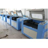 Portable Laser Cutting Machine With Electric Up And Down Table For Wood / Glass Manufactures