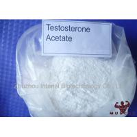 High Purity Synthetic Muscle Anabolic Steroids Test Acet Testosterone Acetate With USP Manufactures