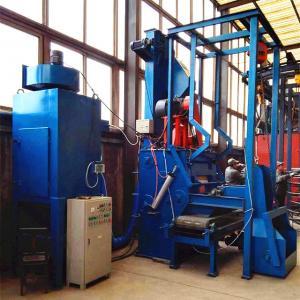 Automatic Q32 Cheapest Crawel Tumble Rubber Belt Type Shot Blasting Machine In Qingdao Manufactures