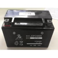 Deep Cycle Sealed Lead Acid Motorcycle Battery , 9.0AH 12v AGM Motorcycle Battery Manufactures