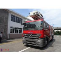 Quality High Strength Telescopic Crane Fire Fighting Vehicles , Heavy Duty Fire Truck for sale