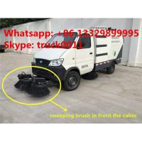 factory direct sale best price CLW brand eletronic sweeper truck, hot sale CLW brand electronic street sweeping vehicle Manufactures