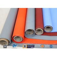 China Plain Weave Thermal Insulation Materials Silicone Coated Fiberglass Fabric on sale