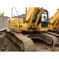 Japanese Used Crawler Excavator 3300hrs , Used Excavating Equipment Komatsu Manufactures