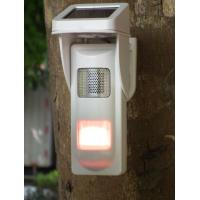 Outdoor Solar  Alarm Motion Detectors With Sound & Light Alert For Park Fire Fighting Manufactures