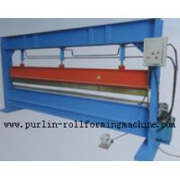 Slitter Hydraulic Bending Machine with Color Steel Panel , Steel Pipe / Tube Bender Manufactures