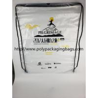 Cheap Price Drawstring Frosted Recycled Plastic Backpack Manufactures