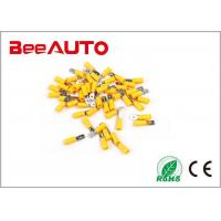 16-14AWG 1.5-2.5mm2 Male Disconnector Insulated Spade terminal Electrical Crimp Connector Manufactures