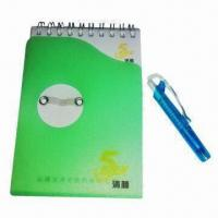 Notepad, Made of Paper and Soft Magnet, Customized Designs are Accepted Manufactures