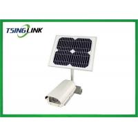 IP66 Low Power 4G WIFI Module CCTV Security Camera With Solar Power Supply Manufactures