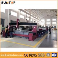 Quality Doubling glass cnc Water Jet cutting machine 1500*3000mm power 37KW for sale