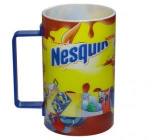 China Freeuni Food Safe Puzzle Mug, 3D Lenticular Printing Kids Plastic Mug on sale