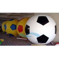 PVC Helium Filled Sports Balloons Colorful Football Giant Advertising Inflatables Manufactures