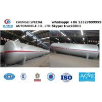 40tons bulk lpg gas storage tank for sale, ASME standard 40metric tons surface lpg propane gas tank for sale Manufactures