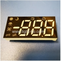 Customized Multicolour Triple Digit 7 Segment LED Display Module For Refrigerator Control Panel Manufactures