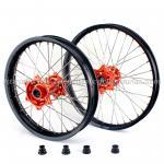 KTM Black Custom Aluminum Motorcycle Wheels Rims For Dirt Bike Manufactures