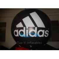 Quality Cool Printed Giant Inflatable Branded Balloons Helium Gas For Adidas New Product Launch for sale