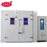 Quality Sunshine Simulation Uv / Xenon Aging Room Walk In Stability Chamber For Color for sale