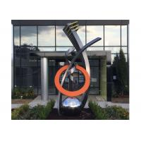 Fine Art Modern Stainless Steel Sculpture Monumental Sculpture 3D Abstract Guitar Manufactures