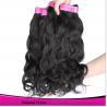unprocessed virgin peruvian hair 100% human hair sew in hair extensions Manufactures