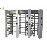 Automatic Waterproof Full Height Turnstile Dual Access Control System Manufactures