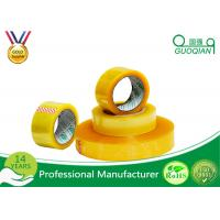 Hot Melt Transparent BOPP Packing Tape For Carton Sealing Environmental Protection Manufactures