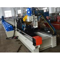 Rack Beam Tube Steel Pipe Making Machine , Rack H Beam Cold Roll Former Machine Manufactures