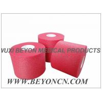 No Adhesive Colored Breathable Porous Foam Underwrap Sports Pre Tape Red Athletic Tape Manufactures