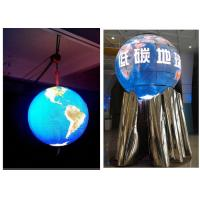Aluminum Cabinet Indoor Sphere LED Display Rental For Advertisement And Event Video Manufactures