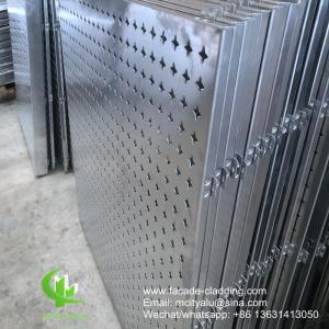 External  Engraved Aluminium Sheet Wall Cladding Building Facade Aluminium Panels Manufactures