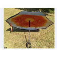 Easy Carry Reversible Rain Umbrella , As Seen On Tv Umbrella That Opens Backwards Manufactures