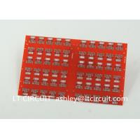 Red LPI Solder Mask Double Sided PCB 0.8mm Lead Free HASL White Silkscreen Manufactures