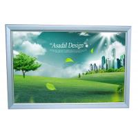 Wall Mounted A0 Size Lightbox Menu Display Energy Saving For Shopping Center Manufactures