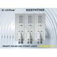 Infrared Human Sensor 80 W Solar Powered LED Street Lights IP65 With 5 Years Warranty Manufactures
