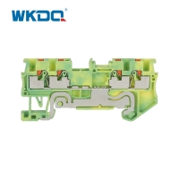 Buy cheap Din Rail Convenient Mounted Electrical Terminal Block Connectors With Long Life from wholesalers